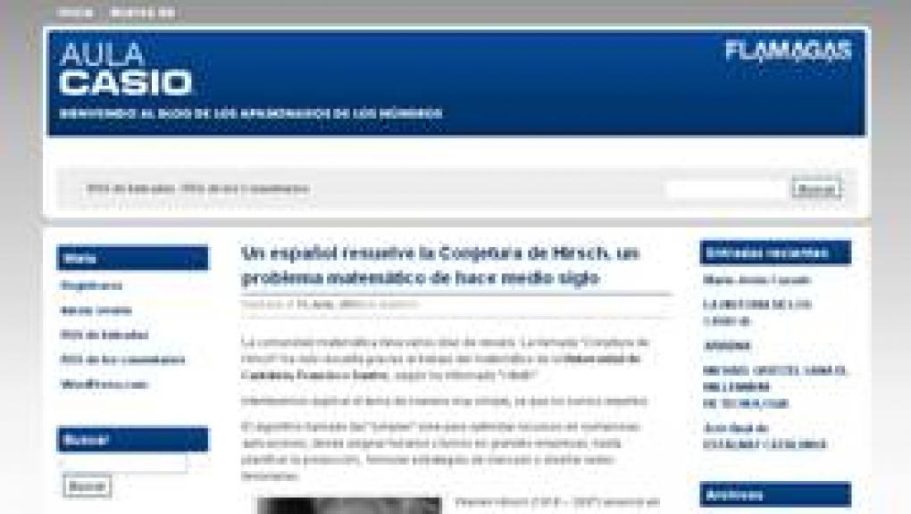 Nace aulacasio.wordpress.com, el blog para los aficionados a las ...