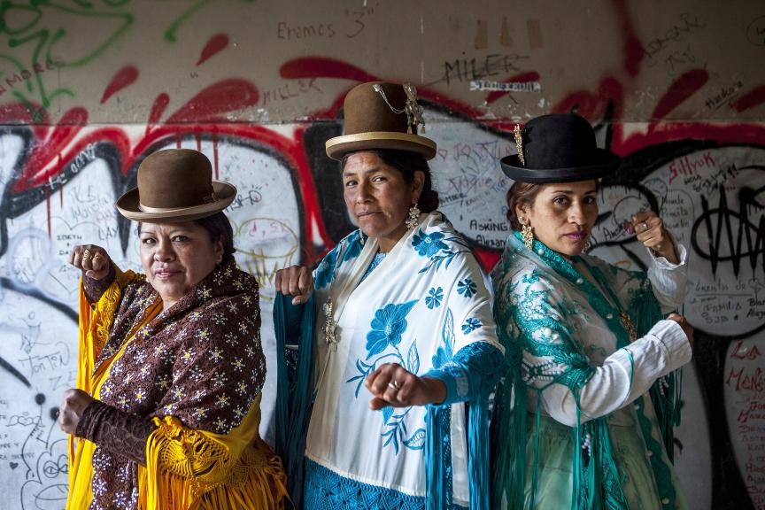 Cholitas luchadoras: golpes de libertad - 21rs | La revista