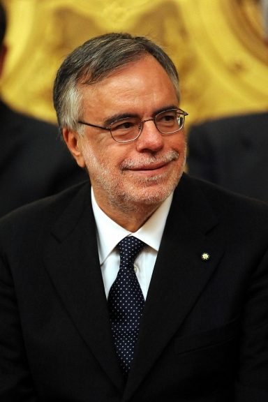 Italian minister for international cooperation, Andrea Riccardi during the swearing-in ceremony of the new Italian government at the Quirinale, the presidential palace in Rome, Italy on November 16, 2011. Mario Monti took over as Italy's new prime minister and appointed himself finance minister as he unveiled a technocratic cabinet to rescue the eurozone heavyweight from bankruptcy. Photo by RomaNews/Photomasi/ABACAUSA.COM