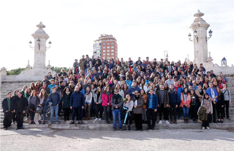 Más de 350 jóvenes valencianos han participado en el XL Encuentro de Jóvenes de Taizé en 2017. Fuente fotografía: Archidiócesis de Valencia.
